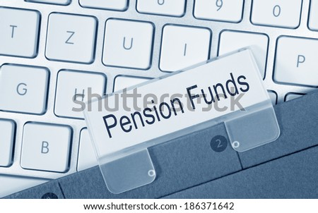 Pension Funds - stock photo