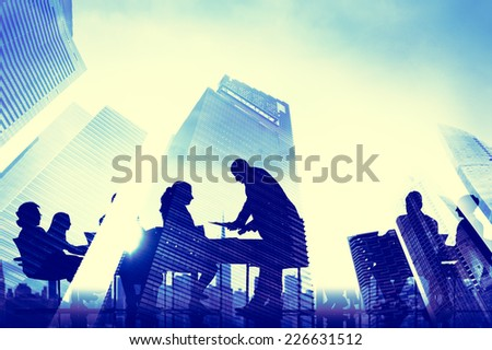 People Communication Concept - stock photo