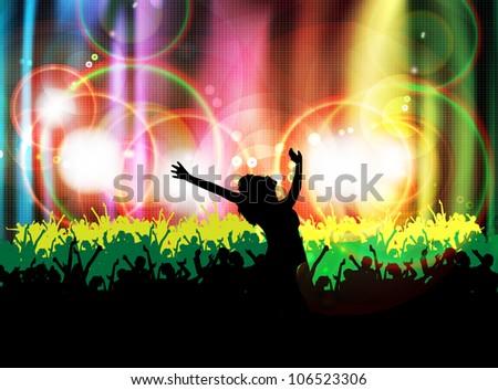 People dancing - stock photo