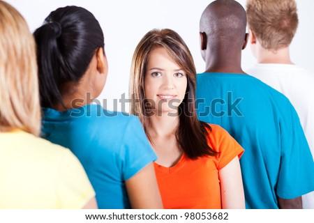 people diversity - stock photo