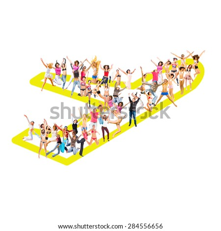 People Diversity Business Picture  - stock photo
