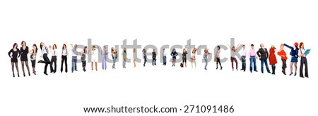 People Diversity Team Together  - stock photo