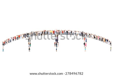 People Diversity Workforce Concept  - stock photo