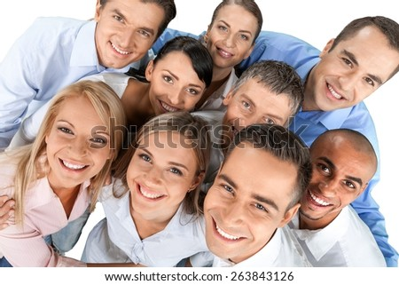 People, Friendship, Group Of People. - stock photo