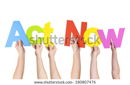 People Holding The Word Advice - stock photo