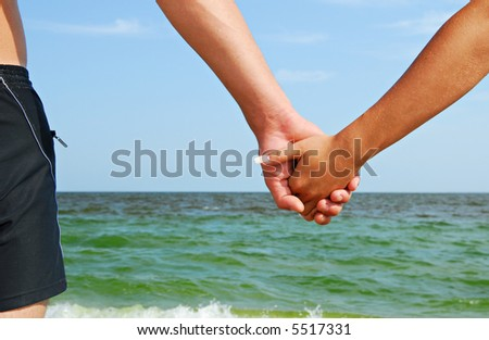 People in love - stock photo