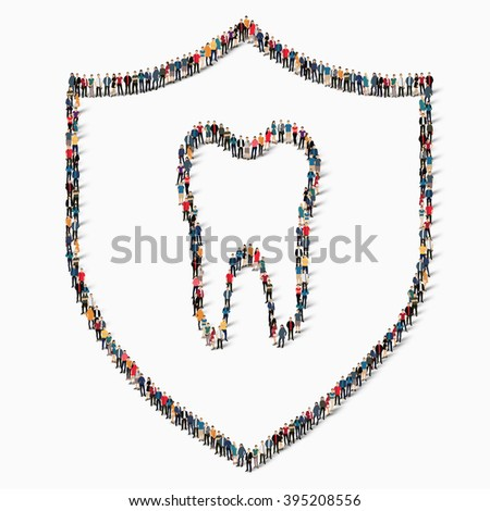 people protection tooth dentistry - stock photo