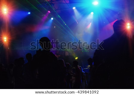 people relax in a nightclub
