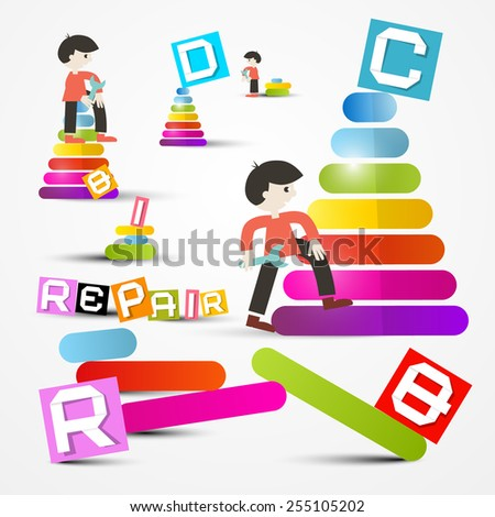 People Repairing - Maintaining Objects - stock photo