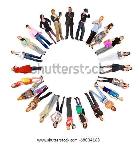 People Team Sign - stock photo