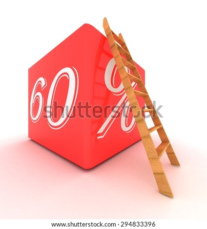 Percentage - Rate - stock photo