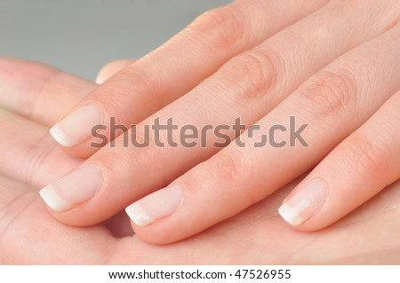 Perfect fmale fingers/nails