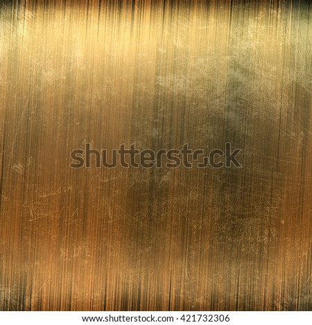 Perfect polished gold metal background - stock photo