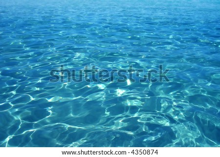 Perfect water surface - texture - stock photo