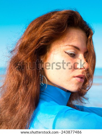 Perfection Female Portrait  - stock photo