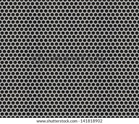 photoshop how to create perforated mesh