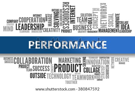 PERFORMANCE | Business Concept - stock photo