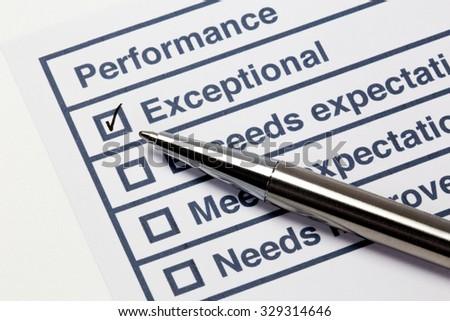 Performance Evaluation Stockfoto's, rechtenvrije afbeeldingen en ...