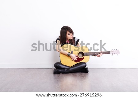 performer - stock photo