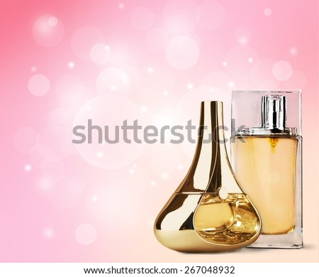 Perfume, Cosmetics, Scented. - stock photo