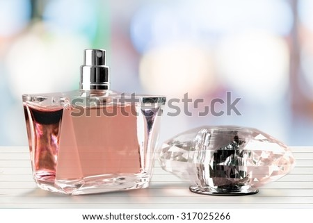 Perfume Sprayer. - stock photo