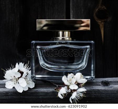 Perfume spring flowers stock photo 100 legal protection 623091902 perfume with spring flowers mightylinksfo