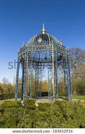 Pergola in Kew Gardens in London, UK - stock photo
