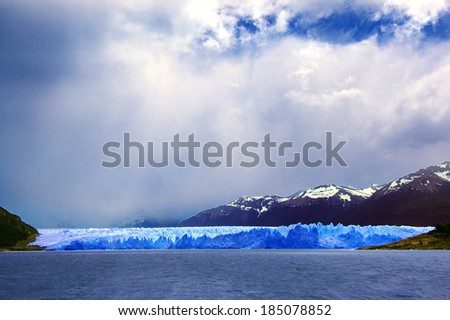 Perito Moreno Glacier in Patagonia (Argentina)  - stock photo