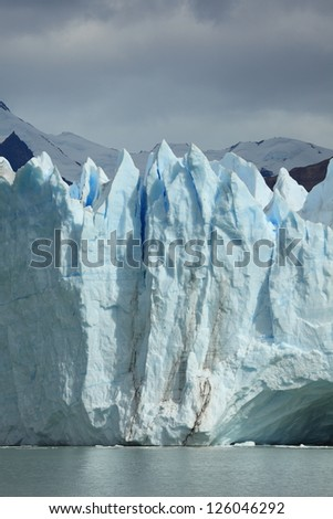 Perito Moreno Glacier Patagonia - stock photo