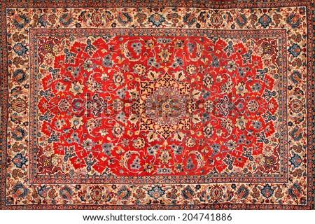 Persian Carpet texture - stock photo