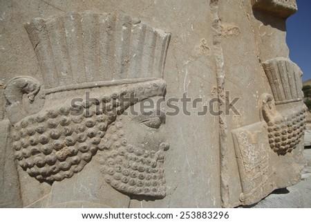Persian warrior - stock photo