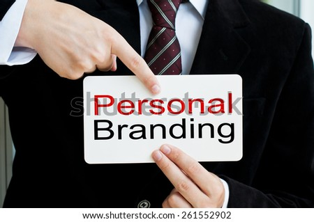 Personal Branding - stock photo