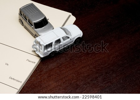 Personal Injury Lawsuit - stock photo