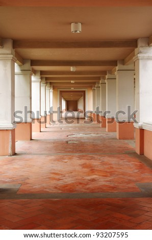 Perspective of Architecture - stock photo