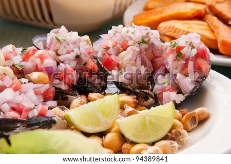 Peruvian stock photos images pictures shutterstock for Art of peruvian cuisine