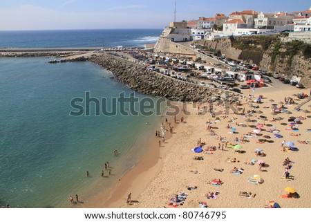 Pescadores beach, Ericeira, Portugal - stock photo