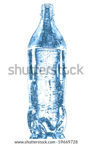 pet bottle isolated on white background