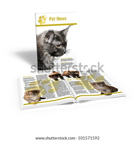 Pet News - stock photo