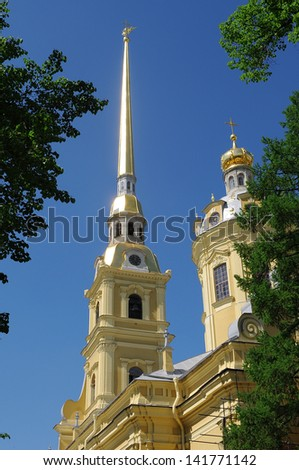 Peter and Paul Fortress. Saint-Petersburg. Russia - stock photo