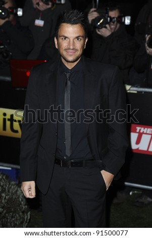 Peter Andre arriving for The Sun Military Awards 2011 at the Imperial war Museum, London. 19/12/2011 Picture by: Steve Vas / Featureflash