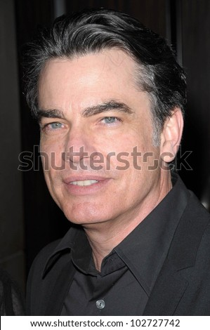 "Peter Gallagher at the 18th Annual ""A Night at Sardi's"" benefitting the Alzheimer's Association, Beverly Hilton, Beverly Hills, CA. 03-18-10"