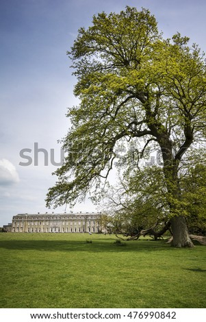 Petworth House and grounds in Sussex
