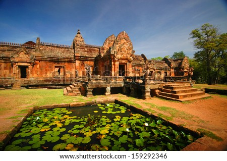 Phanom rung national park in North East of Thailand