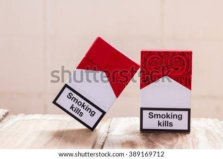 Canada cigarettes Pall Mall brand list