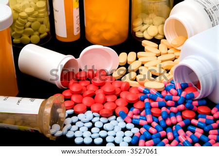 Pharmaceutical Products - stock photo
