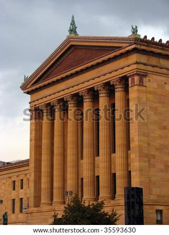 Philadelphia Museum of Art - stock photo