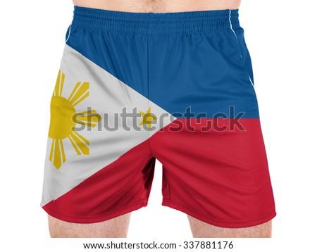 Philippine flag  - stock photo
