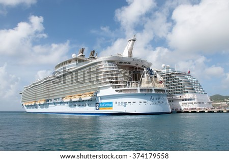 Philipsburg St Maarten Nov Stock Photo - Philipsburg st maarten cruise ship schedule