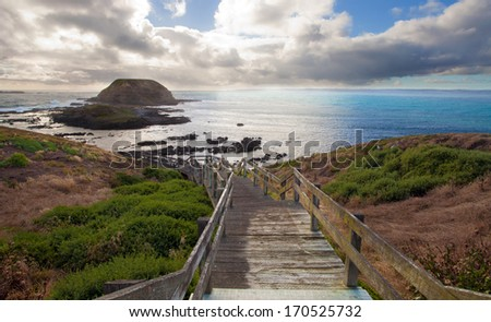 Phillip Island, Victoria, Australia - stock photo