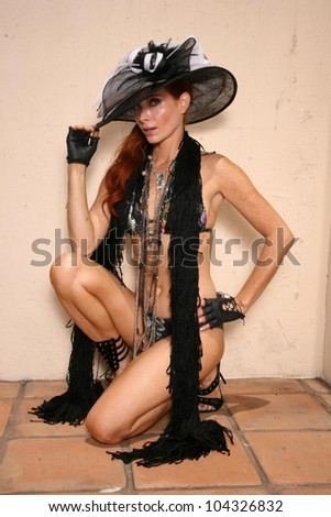 Phoebe Price at a photo shoot for Micha Design Jewelry and Ed Hardy Clothing. Private Location, Los Angeles, CA. 06-16-09